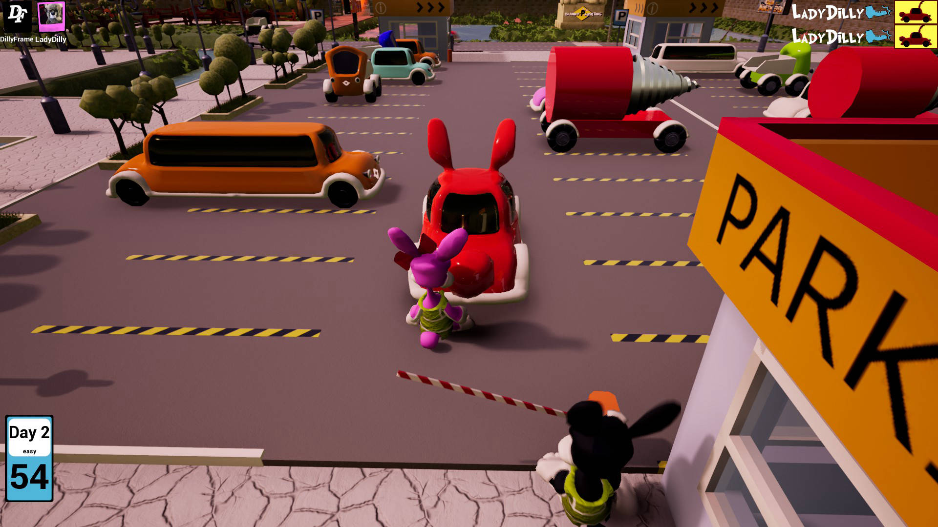 bunny parking screenshot